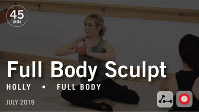 45 Min Studio with Holly: Full Body  |  July 2019 by Pure Barre On Demand