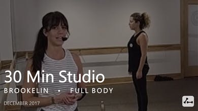 30 Min Studio with Brookelin  |  December by Pure Barre On Demand
