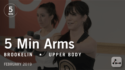 Instant Access to 5 Min Arms with Brookelin: Upper Body  |  February 2019 by Pure Barre On Demand, powered by Intelivideo