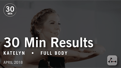 30 Min Results with Katelyn: Full Body  |  April 2018 by Pure Barre On Demand