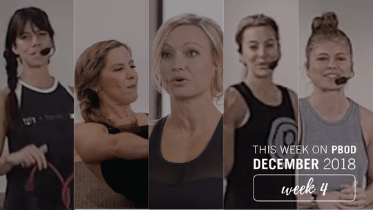 December  |  Week 4 by Pure Barre On Demand, powered by Intelivideo