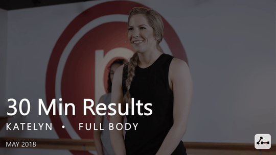 Instant Access to 30 Min Results with Katelyn  |  May by Pure Barre On Demand, powered by Intelivideo