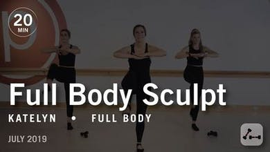 Sculpt in 20 with Katelyn: Full Body  |  July 2019 by Pure Barre On Demand