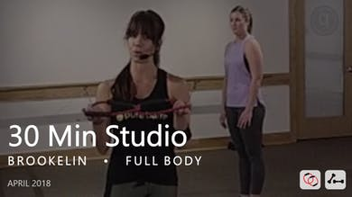 30 Min Studio with Brookelin  |  April by Pure Barre On Demand