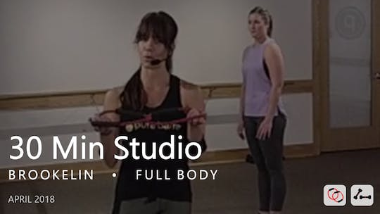Instant Access to 30 Min Studio with Brookelin  |  April by Pure Barre On Demand, powered by Intelivideo
