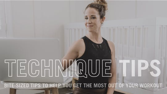 Technique Tips by Pure Barre On Demand