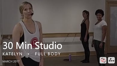 30 Min Studio with Katelyn  |  March by Pure Barre On Demand
