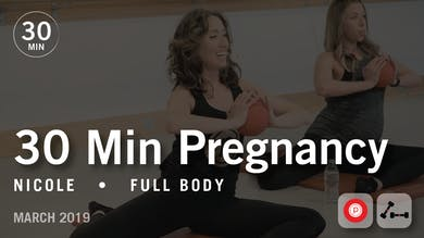 30 Min Pregnancy with Nicole: Full Body | March 2019 by Pure Barre On Demand