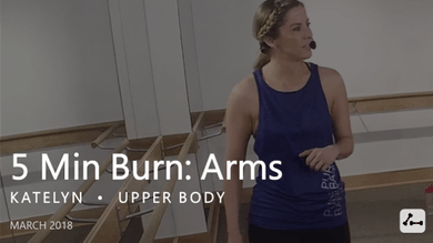 5 Min Burn: Arms  |  March by Pure Barre On Demand