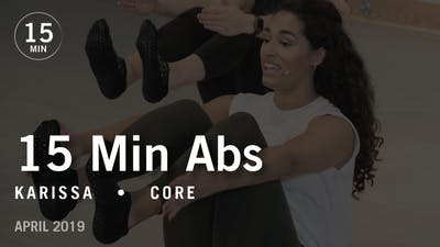 Instant Access to 15 Min Intensive with Karissa: Core  |  April 2019 by Pure Barre On Demand, powered by Intelivideo