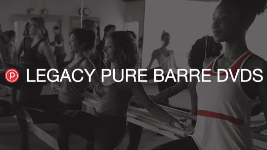 Legacy Pure Barre DVDs by Pure Barre On Demand, powered by Intelivideo
