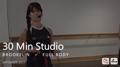 30 Min Studio with Brookelin  |  September by Pure Barre On Demand