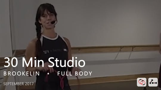 Instant Access to 30 Min Studio with Brookelin  |  September by Pure Barre On Demand, powered by Intelivideo