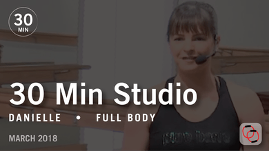 30 Min Studio with Danielle: Full Body  |  March 2018 by Pure Barre On Demand