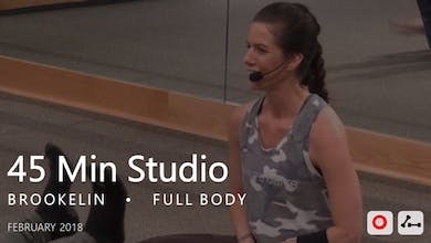 45 Min Studio with Brookelin  |  February by Pure Barre On Demand