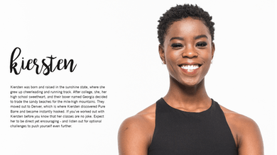 About Kiersten by Pure Barre On Demand