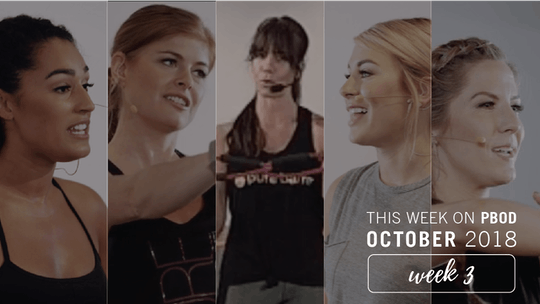 October  |  Week 3 by Pure Barre On Demand, powered by Intelivideo