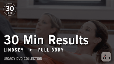 30 Min Results with Lindsey: Full Body #2  |  Legacy DVD Collection by Pure Barre On Demand