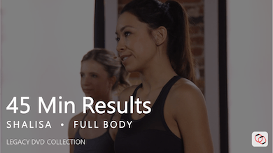 45 Min Results with Shalisa by Pure Barre On Demand
