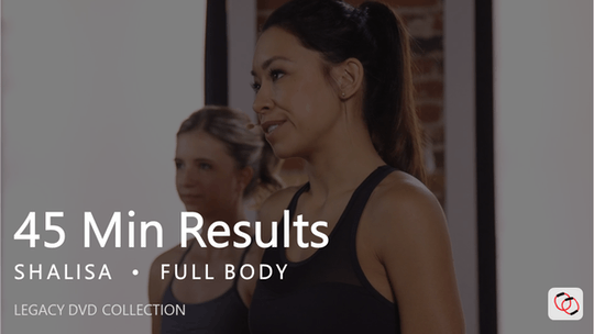 Instant Access to 45 Min Results with Shalisa by Pure Barre On Demand, powered by Intelivideo