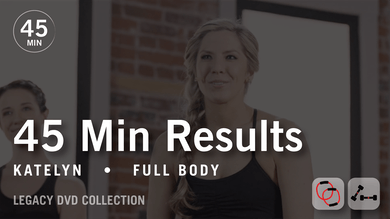 45 Min Results with Katelyn: Full Body  |  Legacy DVD Collection by Pure Barre On Demand