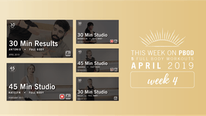 Instant Access to April 2019  |  Week 4 by Pure Barre On Demand, powered by Intelivideo