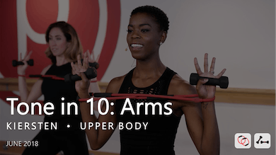 Tone in 10: Arms  |  June by Pure Barre On Demand