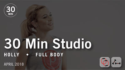 30 Min Studio with Holly: Full Body  |  April 2018 by Pure Barre On Demand