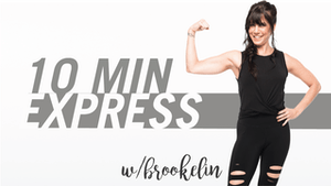 Instant Access to 10 Min Express with Brookelin by Pure Barre On Demand, powered by Intelivideo