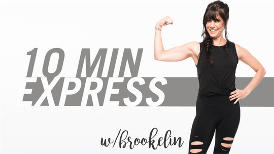 10 Min Express with Brookelin by Pure Barre On Demand, powered by Intelivideo