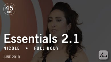 Essentials 2.1 with Nicole: Mind-Body Connection  |  June 2019 by Pure Barre On Demand