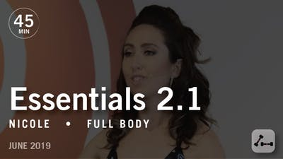 Instant Access to Essentials 2.1 with Nicole: Mind-Body Connection  |  June 2019 by Pure Barre On Demand, powered by Intelivideo