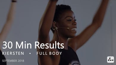30 Min Results with Kiersten  |  September by Pure Barre On Demand