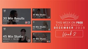 December 2019 | Week 2 by Pure Barre On Demand