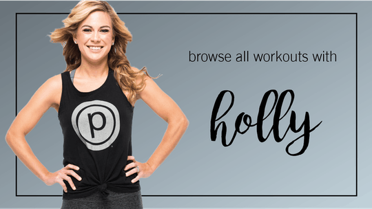 Holly: Browse All by Pure Barre On Demand, powered by Intelivideo