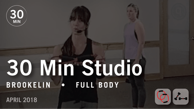 30 Min Studio with Brookelin: Full Body  |  April 2018 by Pure Barre On Demand
