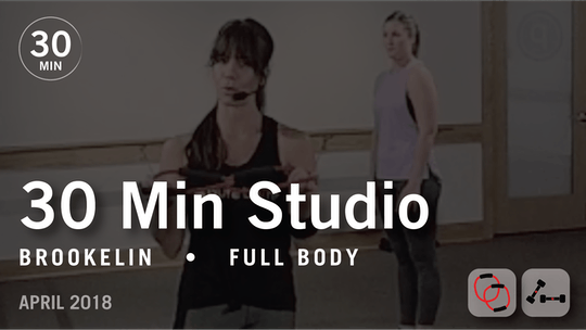 Instant Access to 30 Min Studio with Brookelin: Full Body  |  April 2018 by Pure Barre On Demand, powered by Intelivideo