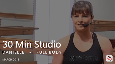 30 Min Studio with Danielle  |  March by Pure Barre On Demand