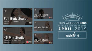 Instant Access to April 2019  |  Week 5 by Pure Barre On Demand, powered by Intelivideo