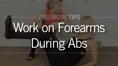 Technique Tip: Proper Form for Abs on Forearms by Pure Barre On Demand
