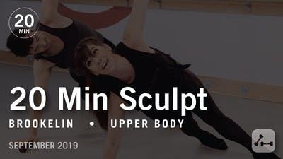 20 Minute Sculpt with Brookelin | September 2019 by Pure Barre On Demand