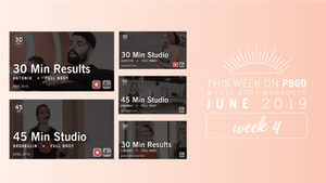 July 2019 | Week 1 by Pure Barre On Demand