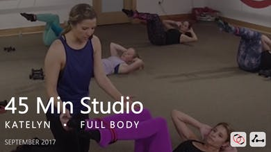 45 Min Studio with Katelyn  |  September by Pure Barre On Demand