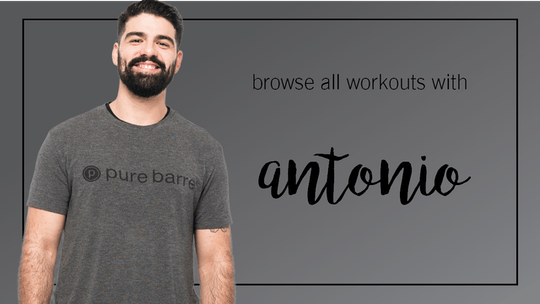 Antonio: Browse All by Pure Barre On Demand