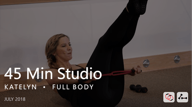 45 Min Studio with Katelyn  |  July by Pure Barre On Demand