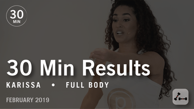 30 Min Results with Karissa: Full Body  |  February 2019 by Pure Barre On Demand