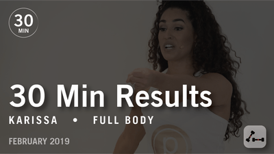Instant Access to 30 Min Results with Karissa: Full Body  |  February 2019 by Pure Barre On Demand, powered by Intelivideo