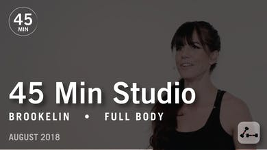 45 Min Studio with Brookelin: Full Body  |  August 2018 by Pure Barre On Demand