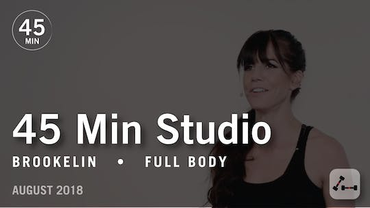 Instant Access to 45 Min Studio with Brookelin: Full Body  |  August 2018 by Pure Barre On Demand, powered by Intelivideo