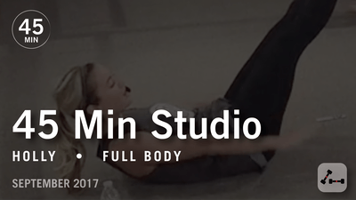 45 Min Studio with Holly: Full Body  |  September 2017 by Pure Barre On Demand